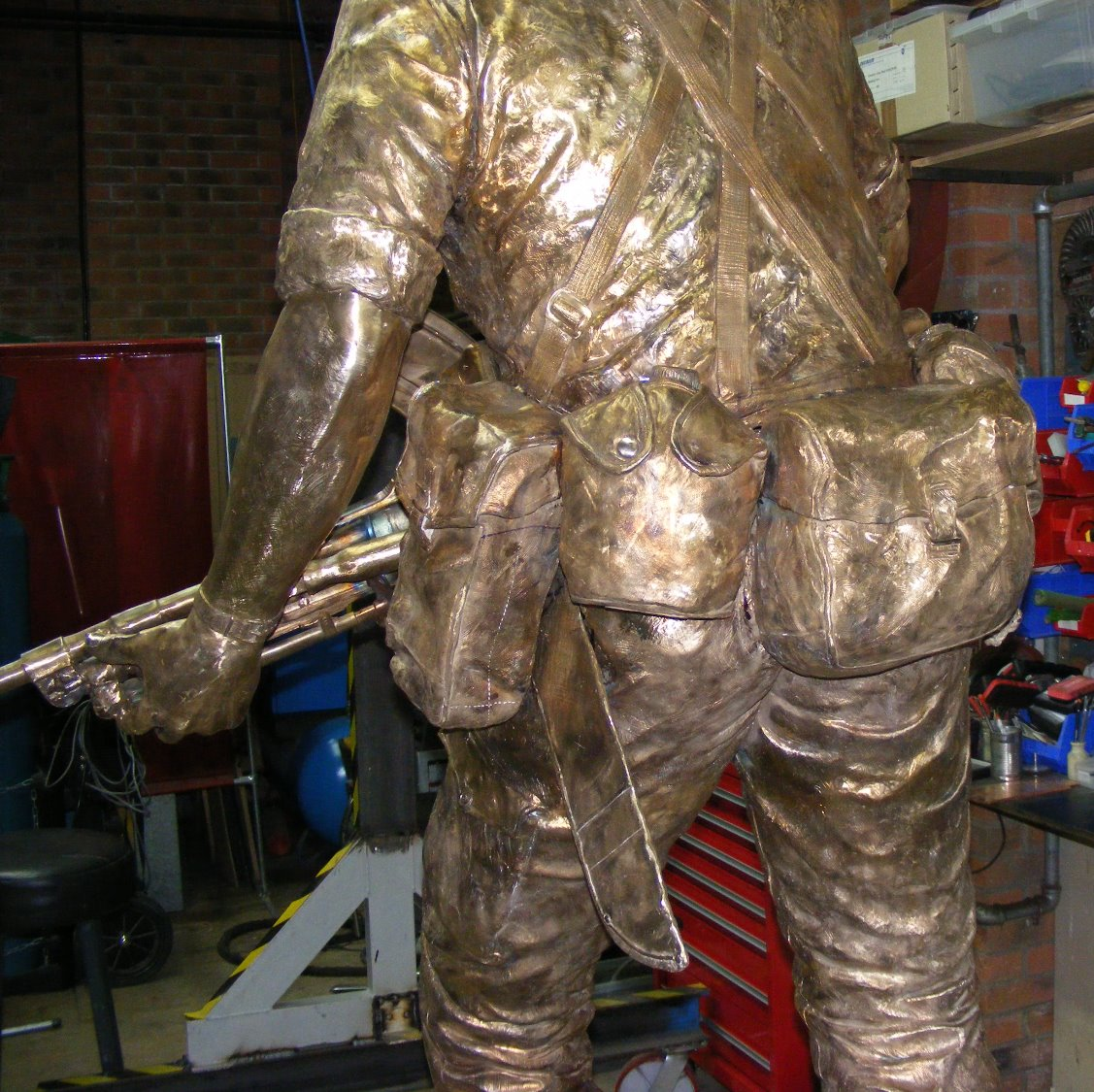 KOYLI Memorial Statue