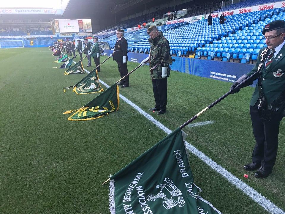 Leeds United Remembrance Match 20181027