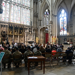 Regimental Memorial Service and Lunch at York Minster