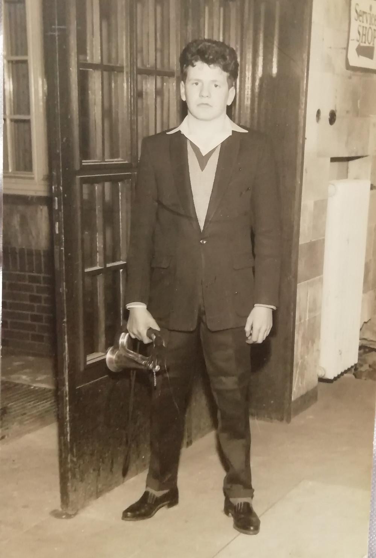 Bugler Ken Cowen