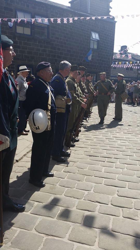 Haworth 1940s Wkend Parade