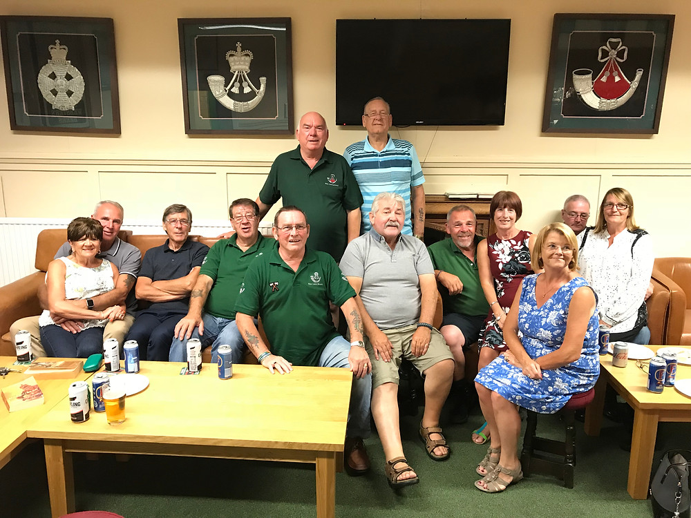 Doncaster Branch members at the relaunch of the branch