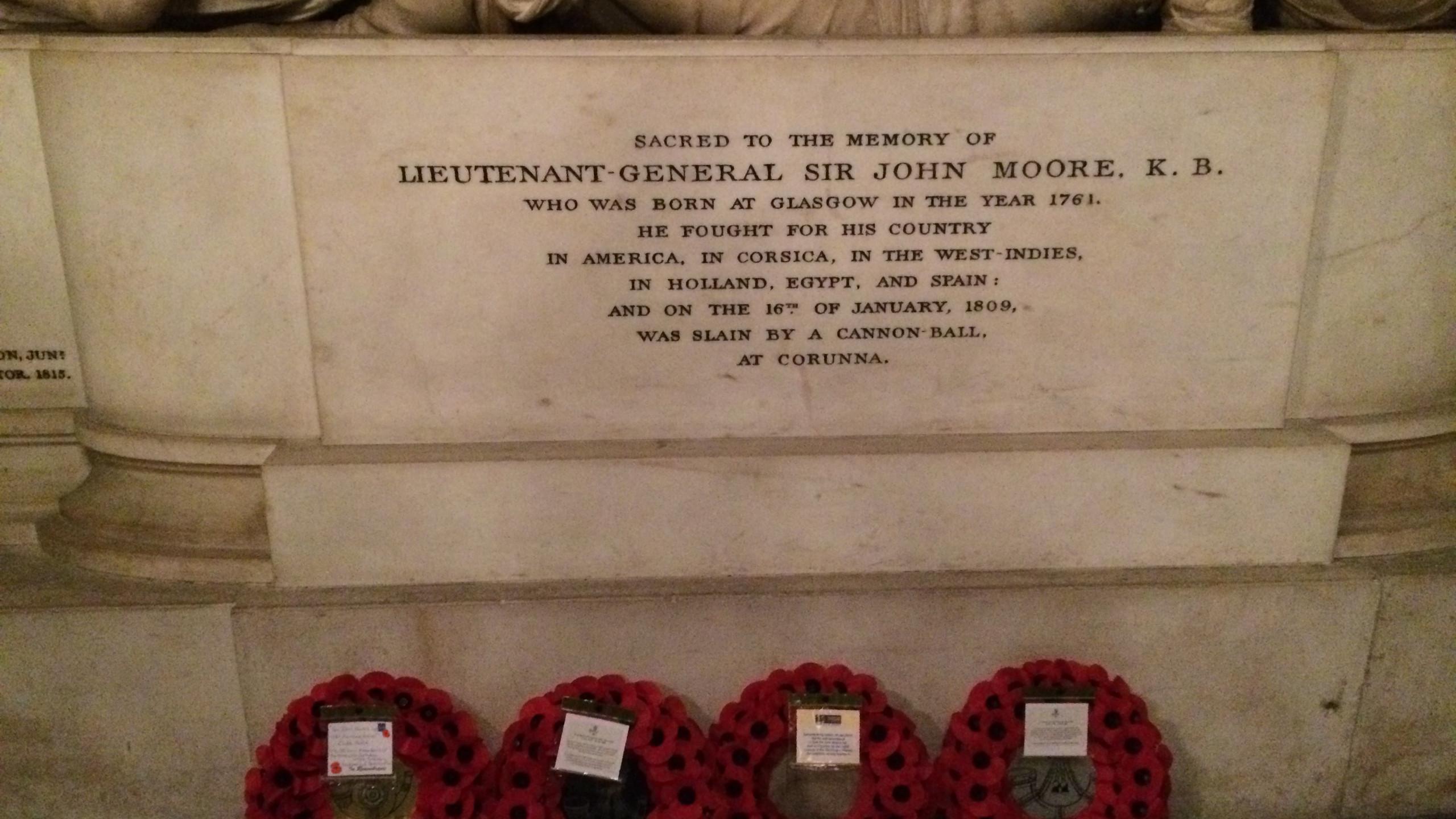 Sir John Moore's Memorial-3