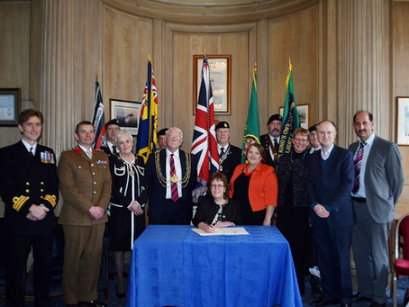 Leeds City Council reiterates commitment and support for city's Armed Forces Community Covenant