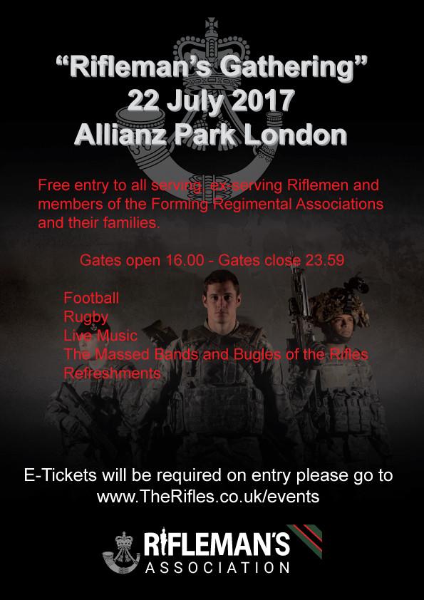 Rifleman's Gathering 2017 Poster