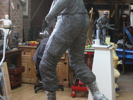 Yorkshire Fine Arts post a video of the KOYLI Maquette