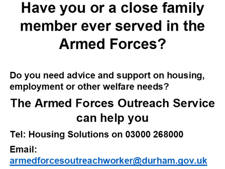 Have you or a close family member ever served in the Armed Forces?