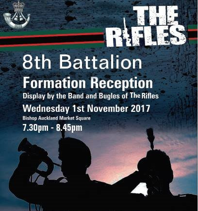 8RIFLES Formation Day Display Poster
