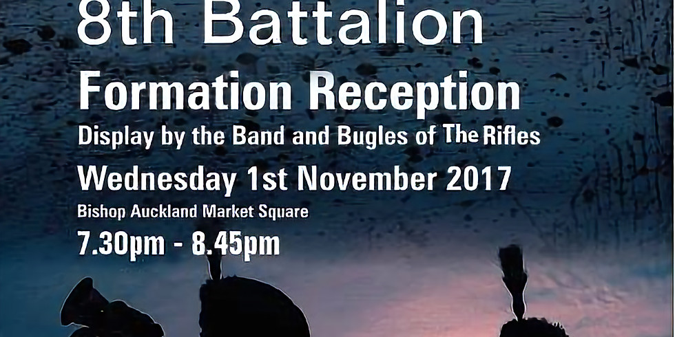 8RIFLES Formation Display by the Band and Bugles of the Rifles