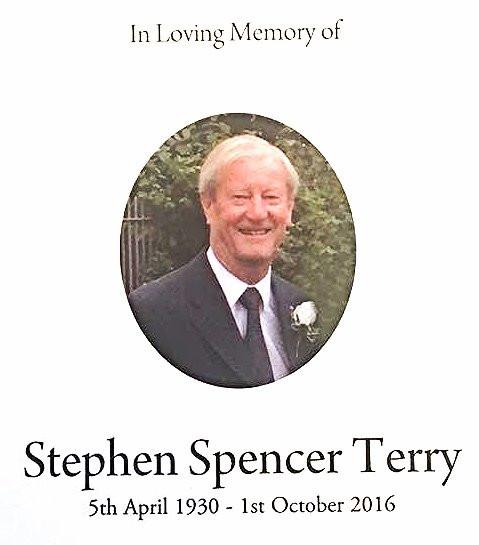 Stephen Terry 5 Apr 30 - 1 Oct 16