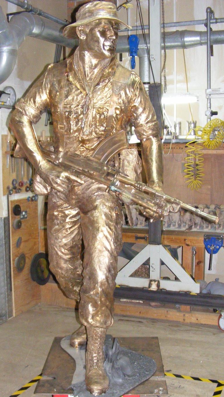 KOYLI Memorial Statue in Bronze