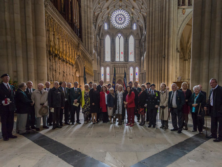 York Minster Memorial Service and Lunch 7 Oct 17