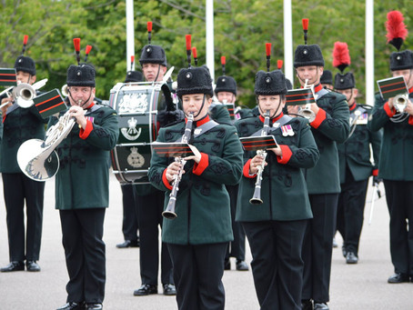 Wakefield Sounding Retreat by The Band and Bugles of the Rifles