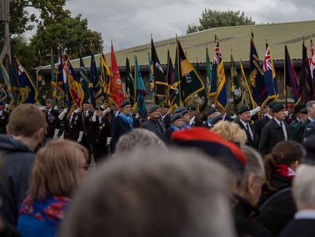Eden Camp All Services Parade and Service of Remembrance 2018