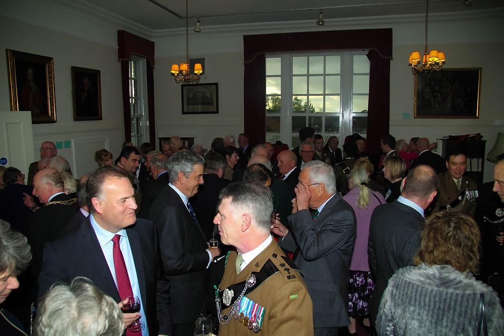 Cocktail Reception at Minden House Ponteract 27 April 2017