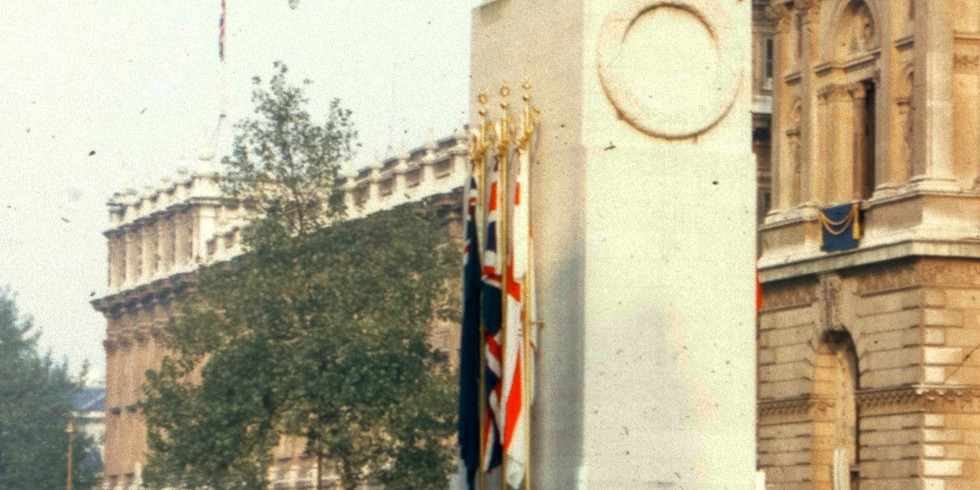 Service of Remembrance on Whitehall 2021