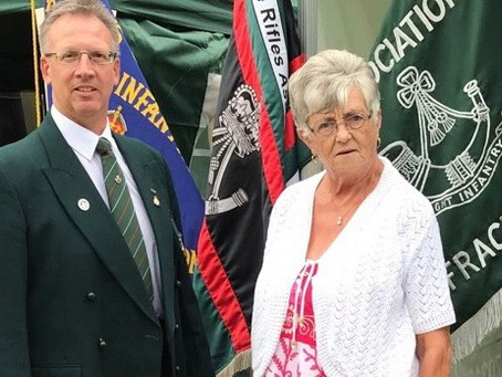 Association meets Riflemen and their families at South Kirkby Gala