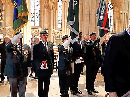 York Minster Memorial Service and Lunch Sat 6 Oct 2018