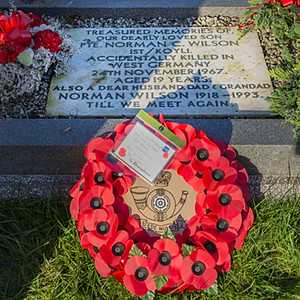Remembrance Service for Pte's Wilson and Limb late 1KOYLI