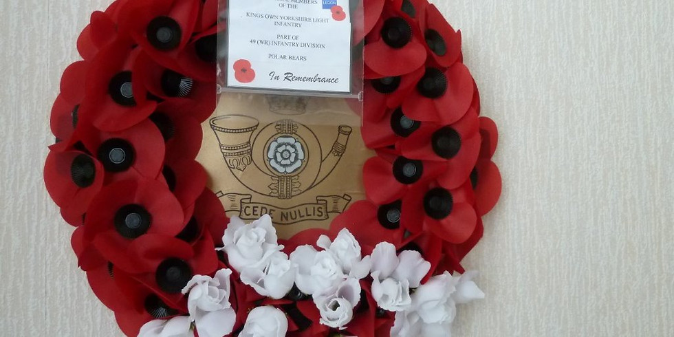 Opening of the Field of Remembrance Westminster Abbey 6-7 Nov 2019