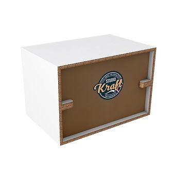table basse en carton réalisation studio kraft fabricant de meuble en carton sur Montauban