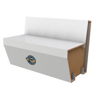 sofa en carton réalisation studio kraft fabricant de meuble en carton sur Toulouse