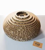 suspension en carton modèle Live réalisation studio kraft
