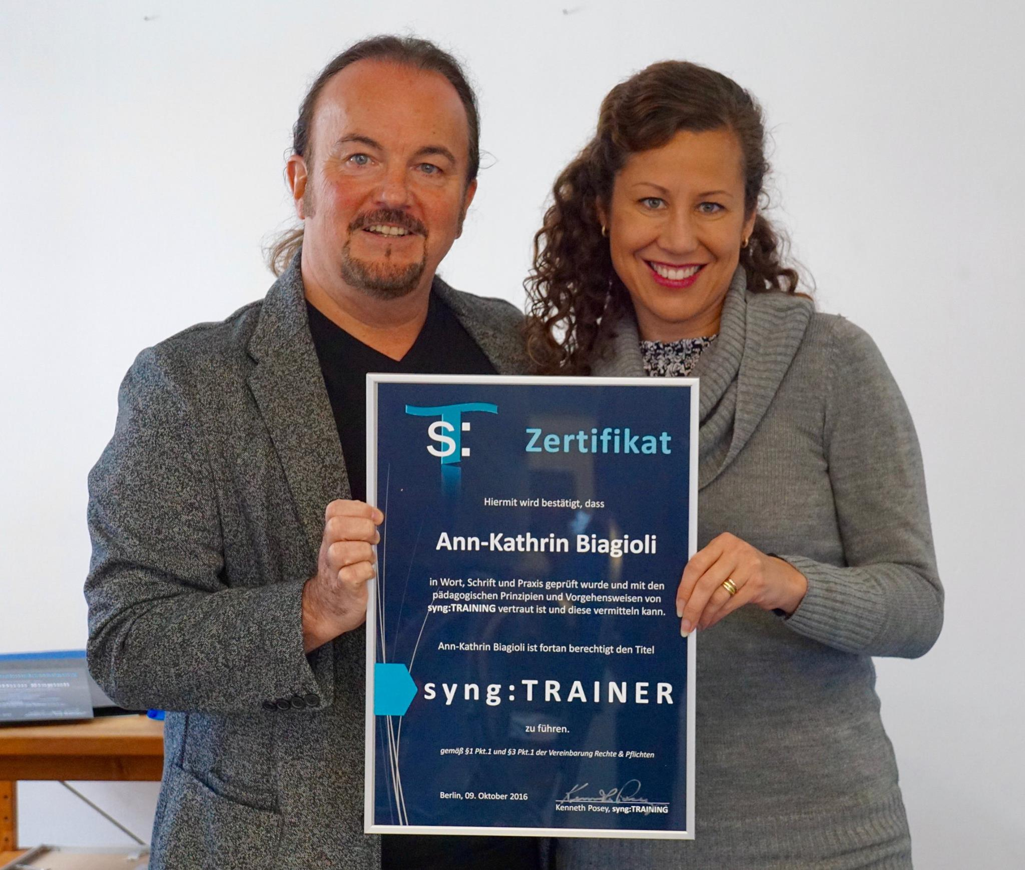 2016 Syng Training mit Ken