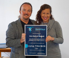 Zertifizierung als Syng:TRAINER mit Prof. Kenneth Posey