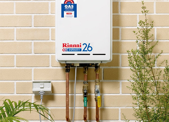 Continuous Flow Water Heater Infinity 26 Touch - B16