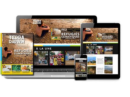 Abonnement 1 an au Magazine (Papier + Numérique) + WEB