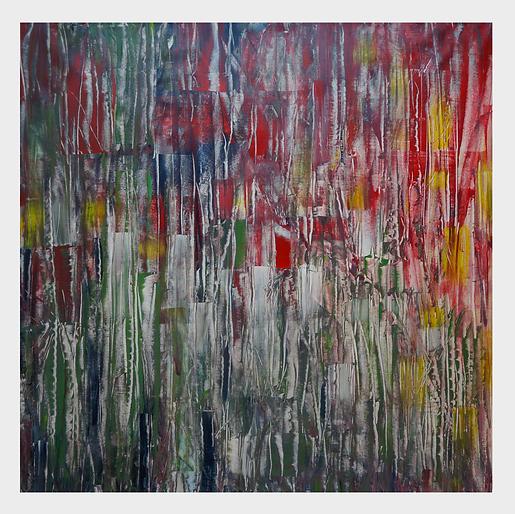 nr 01  acrylic on canvas 100x100cm   met