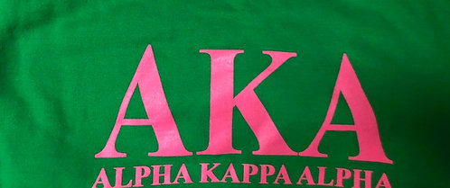 Traditional Green  or Pink Tshirt