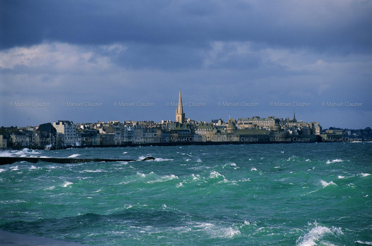 Petite agitation à Saint-Malo