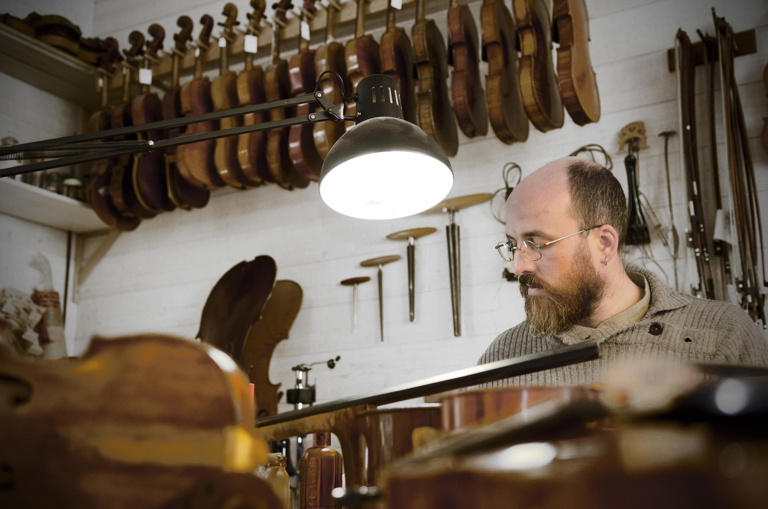 L'ouïe et le luthier P-M Leduc