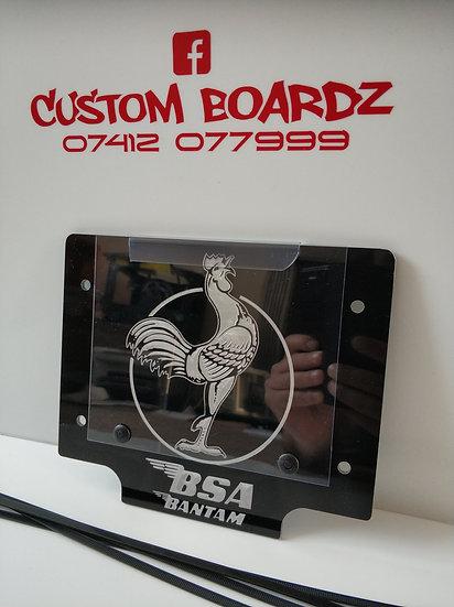 BSA Bantam Number Board