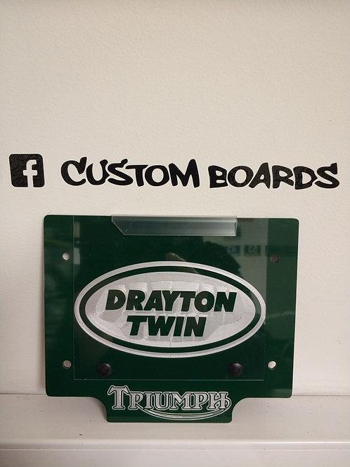 Triumph x Drayton Twin Board