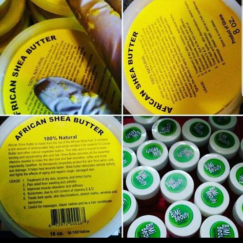 Raw Yellow Shea Butter 8oz