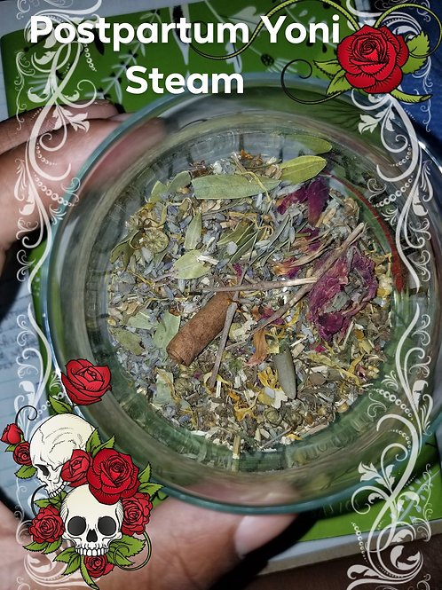 Postpartum Yoni Steam Herbs