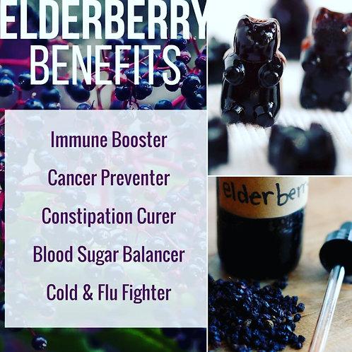 Elderberry Gummies, Syrup, & Tincture