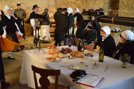 Antonin Rodet film maison de vin bourgogne caméra costume traditionel danse