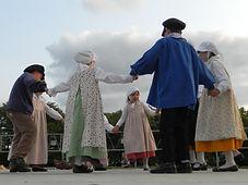 Danse bourgogne beaune vin tradition folklore enfants