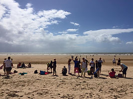 plage vendée vue mer