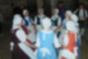 Danse traditionnelle bourgogne dijon noisette fille costumes musée vin beaune