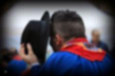 Chapeau coup de bichement bise costume traditionnel biaude foulard danse traditionnelle bourgogne bourrée morvan