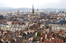 Dijon vue tour philippe le bon bourgogne