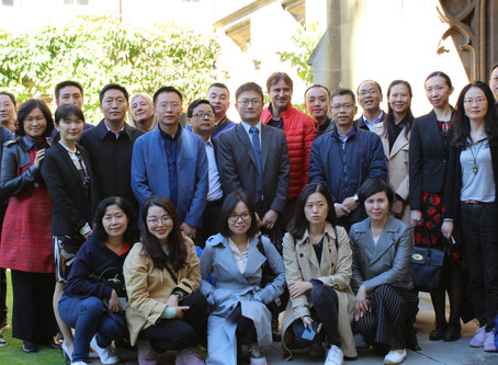 Sichuan Foreign Office and Nottingham University Visiting CUDC, St. John College and Clare Hall