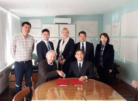 Beijing Wuzi University Visits to Clare Hall, Cambridge and Northumbria University, Newcastle