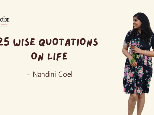 25 WISE QUOTATIONS ON LIFE