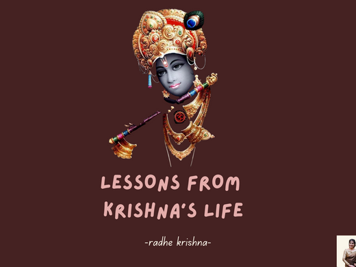 6 MORAL LESSONS FROM KRISHNA'S LIFE